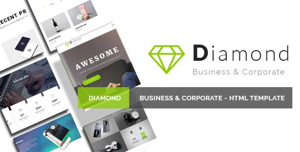 Diamond – Business & Corporate – HTML Template