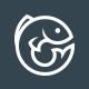 Fresh Blue Fish Logo - GraphicRiver Item for Sale