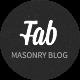Fabulous - Responsive Masonry Blog WordPress Theme - ThemeForest Item for Sale