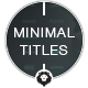 Minimal Titles - VideoHive Item for Sale