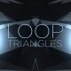 Black Blue Triangles Background - VideoHive Item for Sale