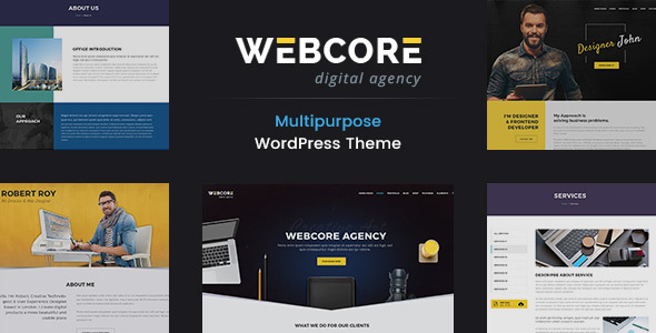 Webcore - Portfolio and Agency WordPress Theme