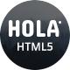 HOLA - Minimal Portfolio HTML5 Template - ThemeForest Item for Sale