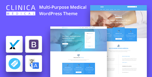 CLINICAWP - Medical WordPress Theme