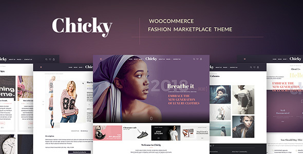Chicky - WordPress Fashion Marketplace Theme