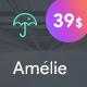 Amelie - WP Theme for Creatives & Photographers - ThemeForest Item for Sale