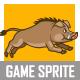 Warthog Game Sprite - GraphicRiver Item for Sale
