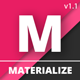 Materialize - Material Angular JS Forms - CodeCanyon Item for Sale
