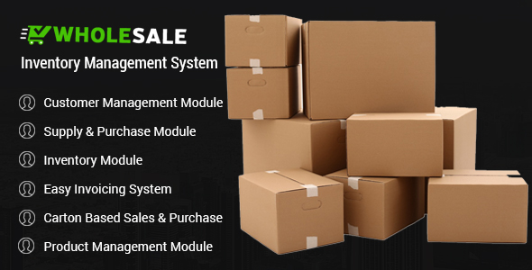 Wholesale - Inventory Control and Inventory Management System Download