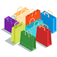 Isometric Shopping Bags - GraphicRiver Item for Sale