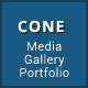 CONE - Media Gallery Portfolio - CodeCanyon Item for Sale