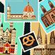 Postage Stamps Set - GraphicRiver Item for Sale