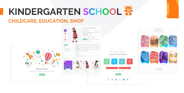 Kindergarten - School & Education Institute HTML Template