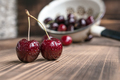 Cherry in a colander  - PhotoDune Item for Sale