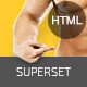 SUPERSET - GYM Landing Page - ThemeForest Item for Sale