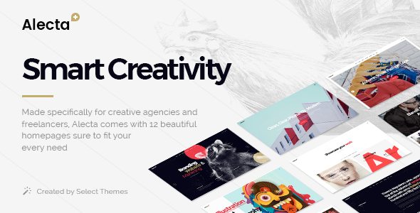Alecta - Creative Agency Theme