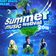 Summer Festival A4 Poster - GraphicRiver Item for Sale