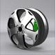 Sports car RIM 3d model - 3DOcean Item for Sale