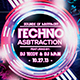 Techno Abstraction Flyer - GraphicRiver Item for Sale