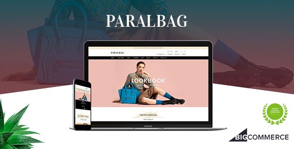 Paralbag - Parallax BigCommerce Bag Store Theme