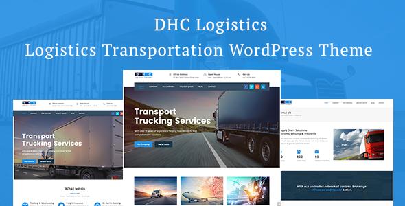 DHC | Logistics Transportation WordPress Theme
