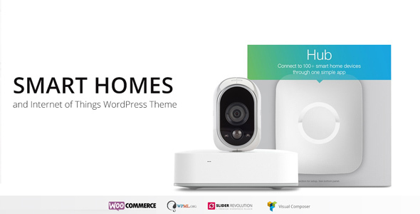 Smart Home - Home Automation WordPress Theme