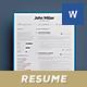 Junior Resume/Cv Template - GraphicRiver Item for Sale
