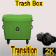 Trash Box Transition, Green - VideoHive Item for Sale