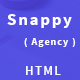 Snappy - Creative Agency HTML Template - ThemeForest Item for Sale