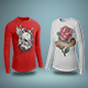Thermal T-Shirt Mockup Vol.2 - GraphicRiver Item for Sale