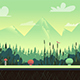Nature landscape in Green Colours - GraphicRiver Item for Sale