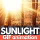 Sunlight Animated GIF Photoshop Action - GraphicRiver Item for Sale