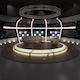 3d Virtual TV Studio Chat Set 20 - 3DOcean Item for Sale