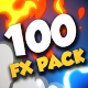 100 Hand Drawn FX Pack - VideoHive Item for Sale