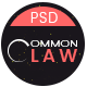 CommonLaw - Attorney & Lawyer PSD Template - ThemeForest Item for Sale