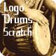 Drums Logo Scratch