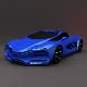 Lada Raven 3D  low poly car - 3DOcean Item for Sale