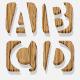 3d Wooden Alphabet - GraphicRiver Item for Sale