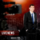 Broadcast News Anchor Promo - VideoHive Item for Sale