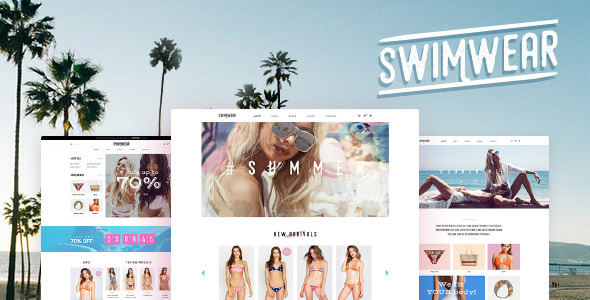 Swimwear - SummerShop WooCommerce WordPress Theme