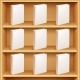 Bookshelf and Books with Blank Covers - GraphicRiver Item for Sale