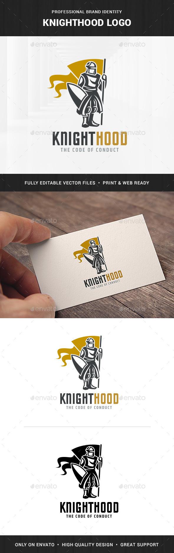 Knighthood Logo Template