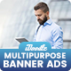 Banner Ads - Multipurpose, Business, Corporate Banners Ad - GraphicRiver Item for Sale