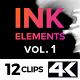4K Ink Elements [vol.1] - VideoHive Item for Sale