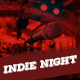 Indie Night Flyer - GraphicRiver Item for Sale
