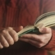 The Book Is a Large Size in a Human Hand - VideoHive Item for Sale