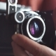 Vintage Photo Camera in the Hands - VideoHive Item for Sale