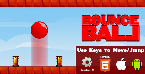 Bounce Ball - HTML5 Game (CAPX) Download