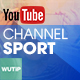 Sport Channel - Youtube Banner Template - GraphicRiver Item for Sale