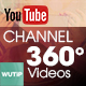 360 Video Channel - Youtube Banner Template - GraphicRiver Item for Sale